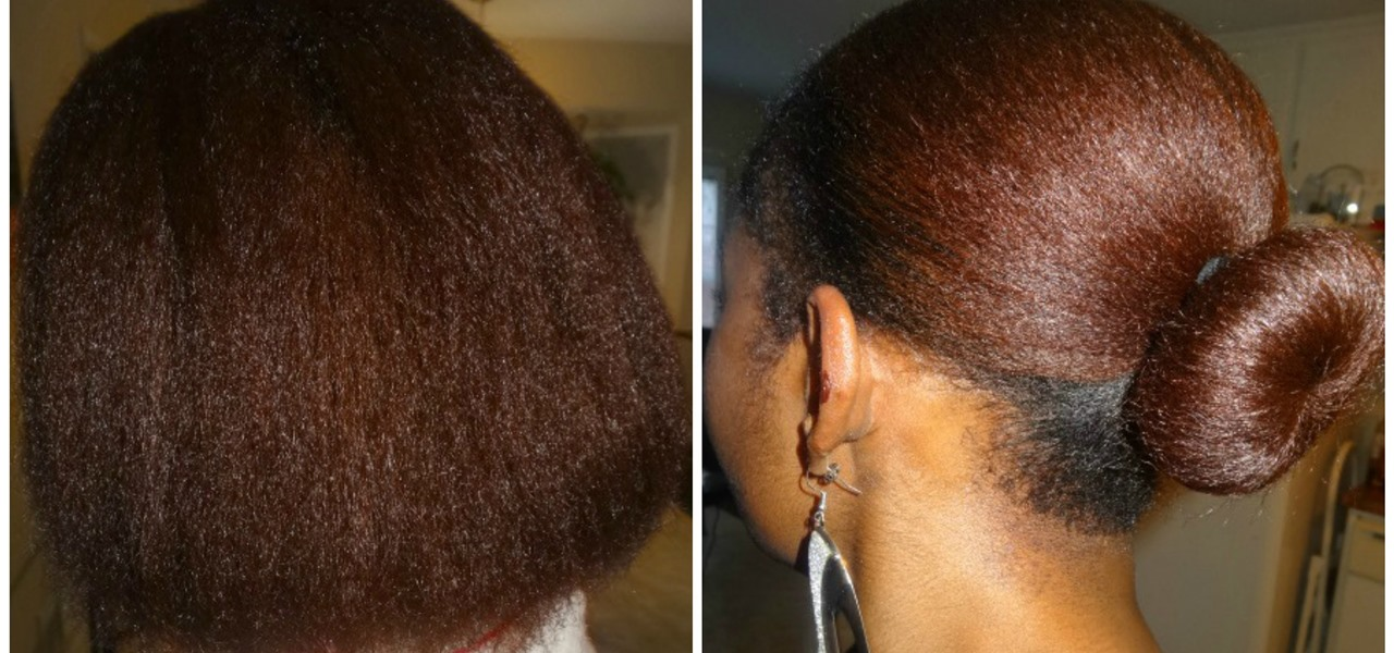 Blowout On Dry Natural Hair