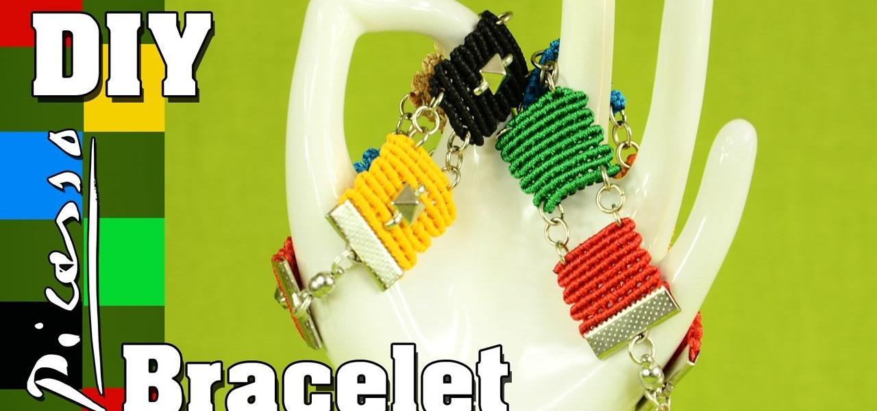 Picasso Square Bracelet