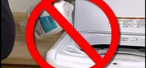 Prevent oversudsing in your high efficiency washer