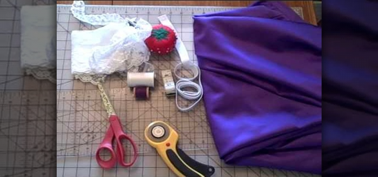 How To Make A Y Garter Belt For Your Wedding Sewing Embroidery Wonderhowto