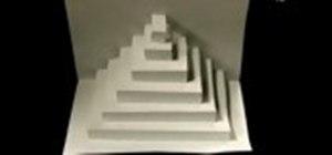 Make a paper pyramid