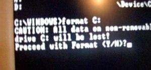 Reformat your computer