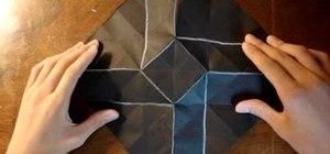 Make a ninja origami star