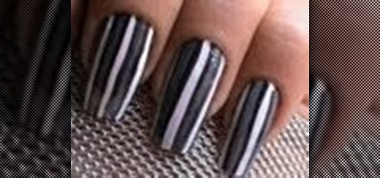Do Grey Striped Nails