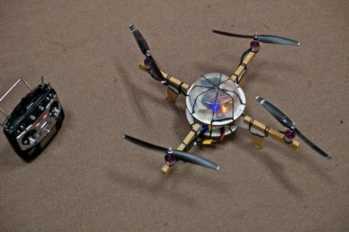 Arduino Air Force: DIY Robotic Cardboard Quadcopters
