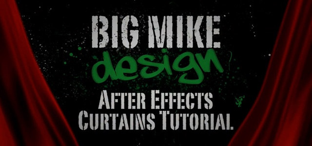 How to Make a moving curtain animation within After Effects ...