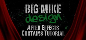 Make a moving curtain animation within After Effects