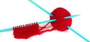 Knit a Flower Napkin Ring