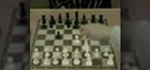 Use the Sicilian defense in chess