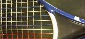 Understand main skips and cross weaving on the racket