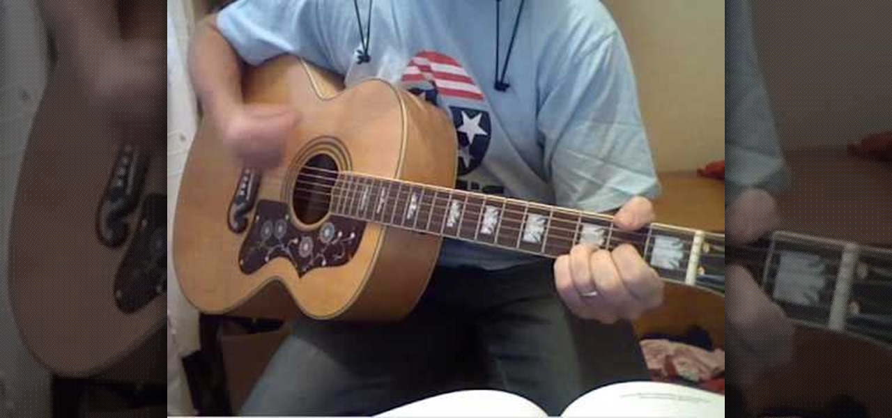 How To Play Beatles I Should Have Known Better On Guitar
