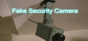 Build a fake cardboard security camera
