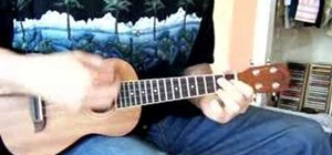 "Play ""Lovely Hula Hands"" in C on the ukulele"