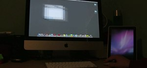 how to use two imac monitors as one screen