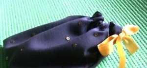 Sew your own pouch for a mobile phone or mp3 player