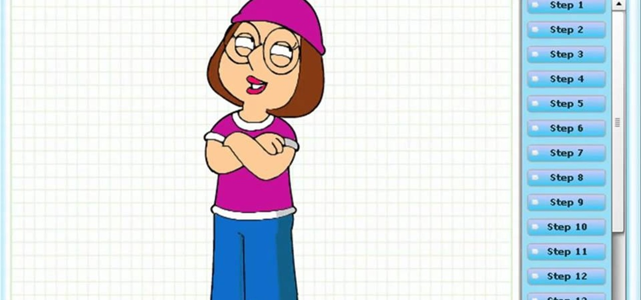 Draw Meg Griffin 'Family Guy'