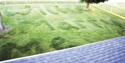 Fertilizer proposal! (She said yes.)