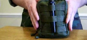 Assemble a compact survival kit to carry on a belt or in a backpack