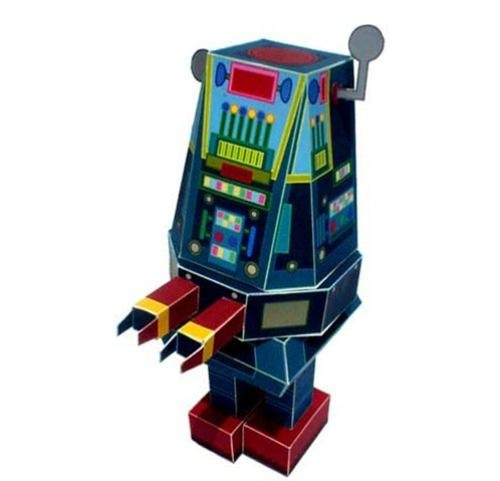 50 FREE Papercraft Robot Downloads