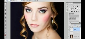 Enhance cheeks and eyelids in Adobe Photoshop CS5