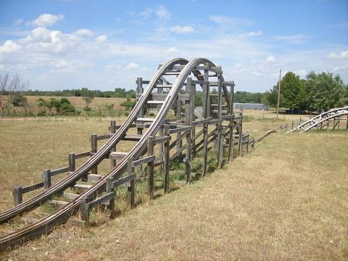 Previously, DIY Redneck Roller Coaster.