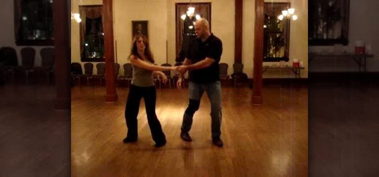 how to swing dance pretzel