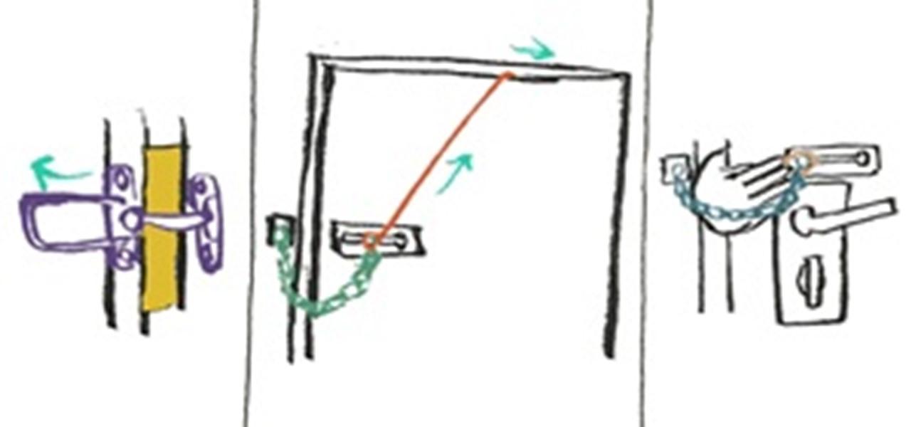 Locking Door Chain &