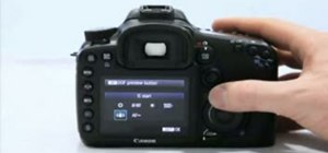 Use the basic functions of the Canon 7D