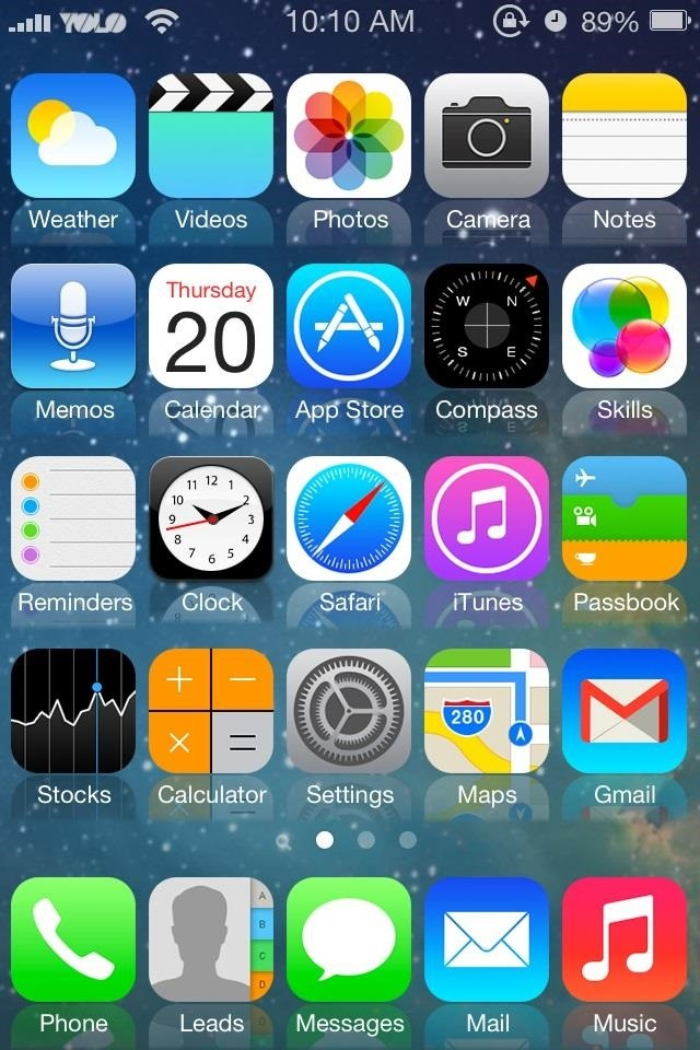 ios 6 theme for android apk