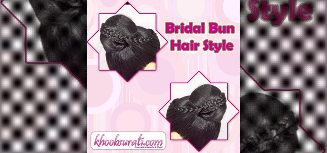Bridal Bun Hair Style