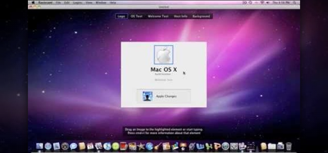 How to change the snow leopard login screen operating systems how to change the snow leopard login screen operating systems wonderhowto ccuart Image collections