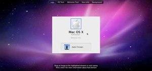 Change the Snow Leopard login screen
