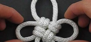 "Tie the ""Asheley's flower knot"" flower knot variation"