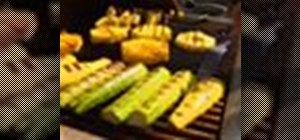 Make grilled zucchini and summer squash