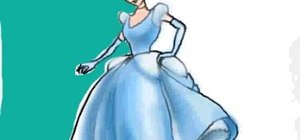 Draw Disney's Cinderella