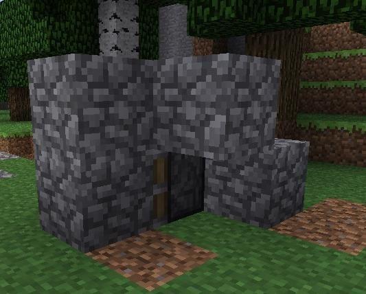 how to make a secret lava door in minecraft