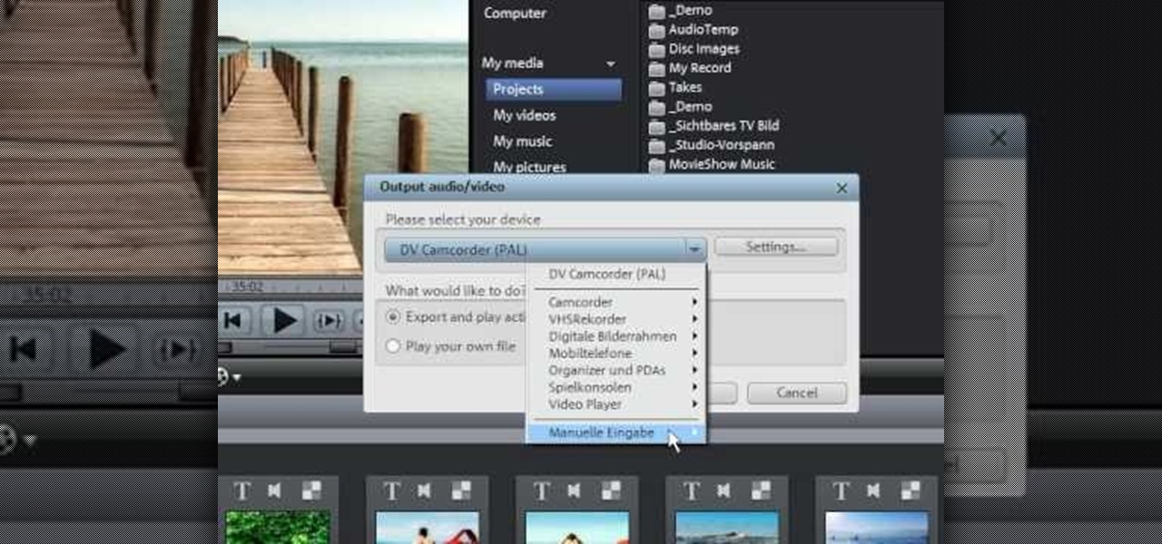 How To Burn Svcds And Dvds In Magix Movie Edit Pro 15