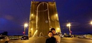 "Russian Pranksters ""Dick"" Bridge"