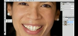 Whiten teeth with Photoshop CS5's Dodge & Sponge tools