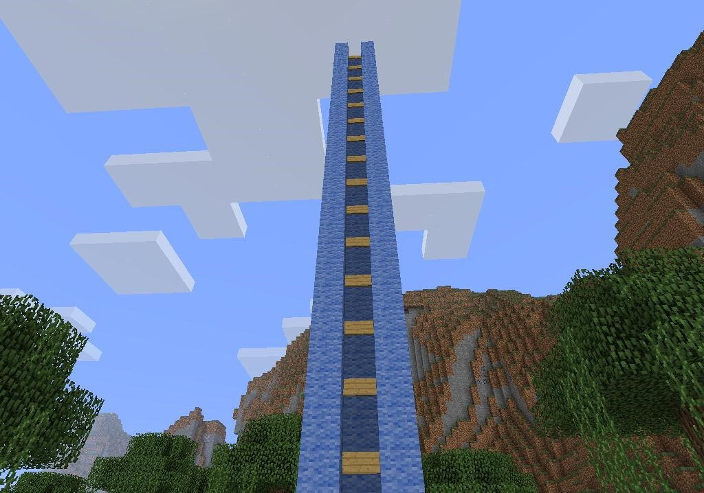 The Fastest Way to the Top: How to Build a Redstone ...