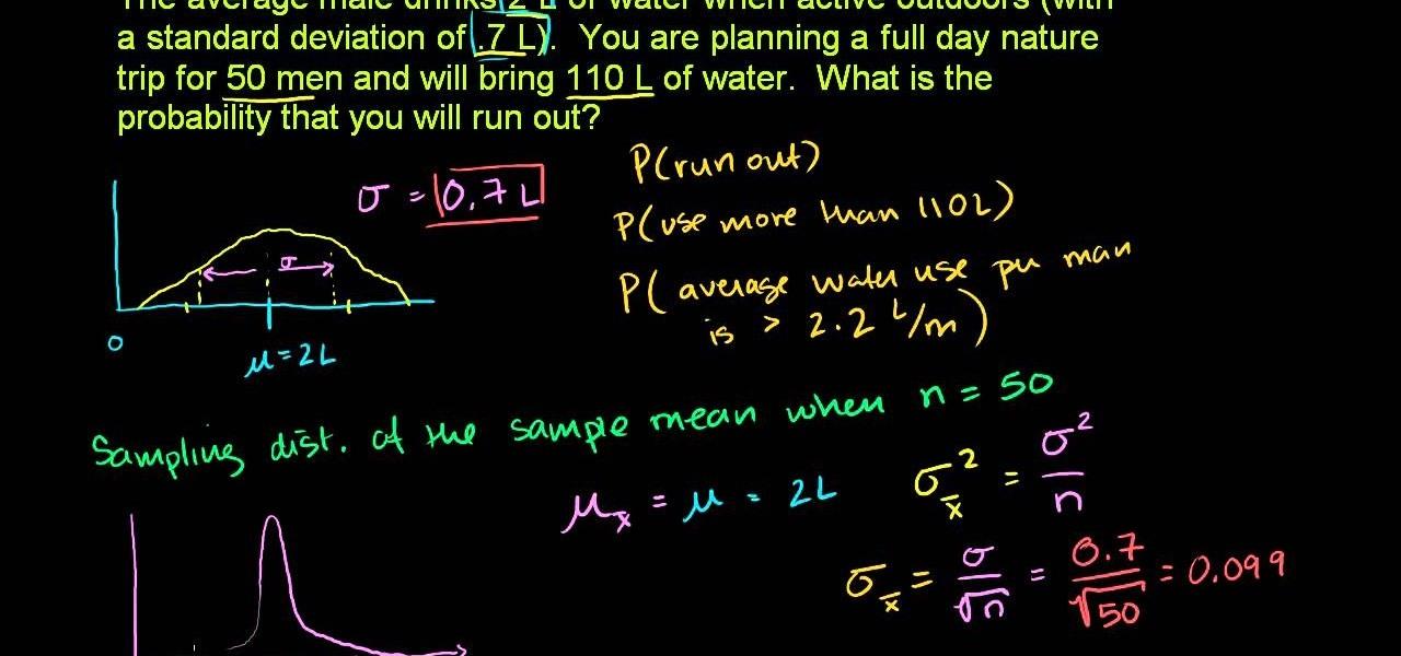 How to Find sample distribution in statistics « Math :: WonderHowTo