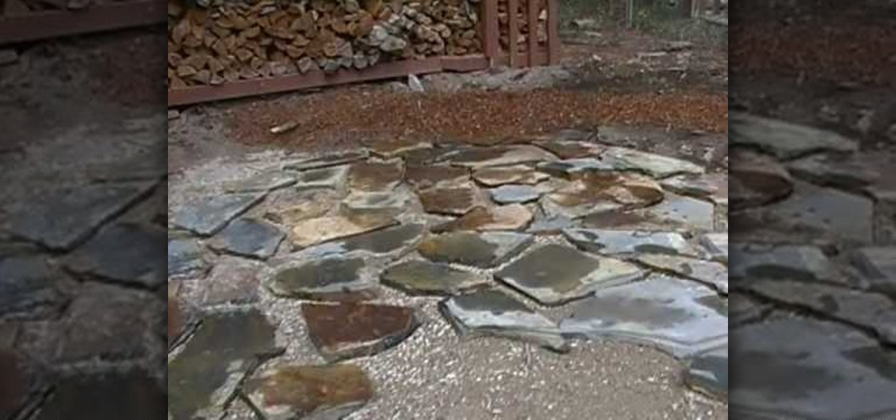 How to Lay a flagstone patio « Landscaping :: WonderHowTo