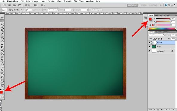 how to make realistic brush strokes in photoshop