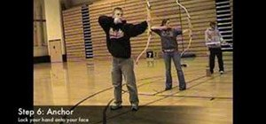 Shoot a bow in 8 steps