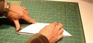Fold a closed sink in origami