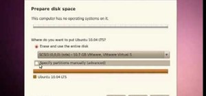Install the Ubuntu Linux distribution on a Microsoft Windows PC