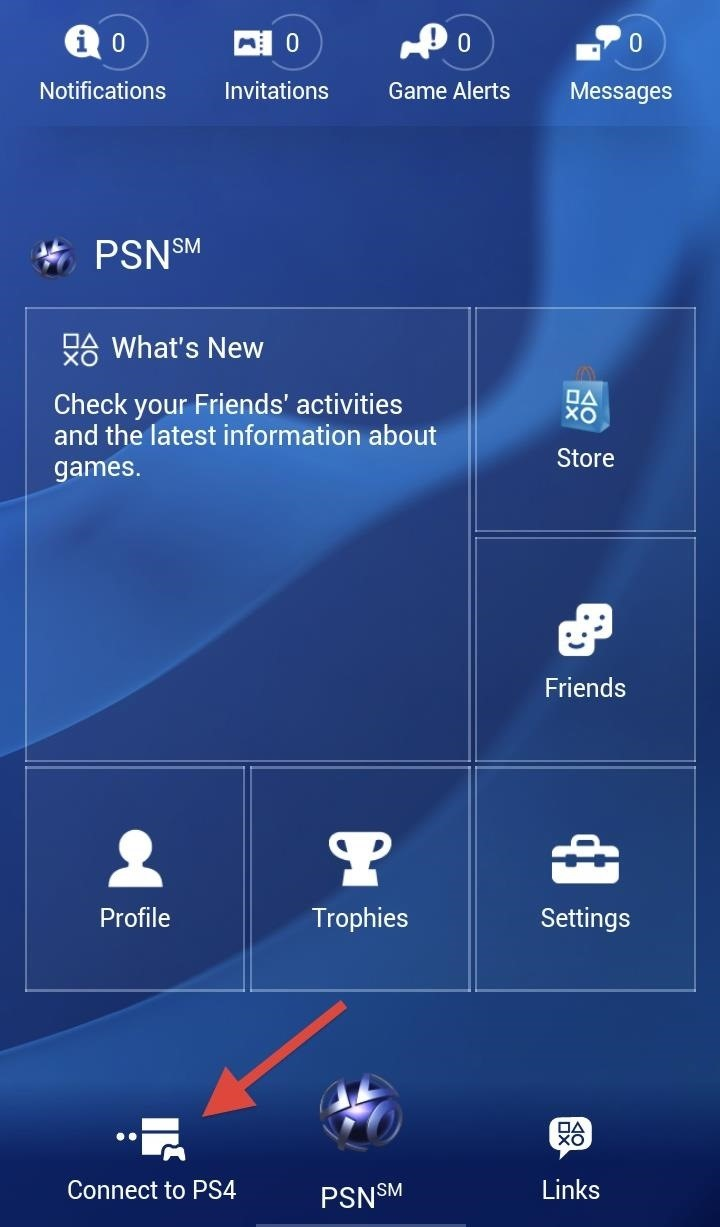 how to use a smartphone or tablet as a playstation 4 keyboard