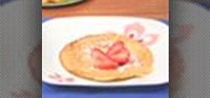 Make dessert crepes