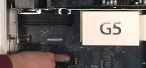 Install memory in a Power Mac G5