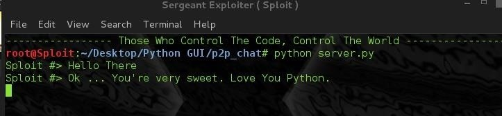 SPLOIT: How To Build a Peer to Peer Chat Application in Python ( GUI - Linux )